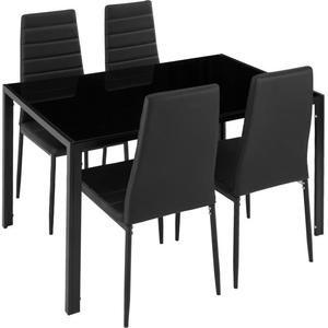 Table et 4 chaises pour salle à manger en excellen
