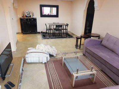 appartement équipé 2 chambres à louer par jour Mar