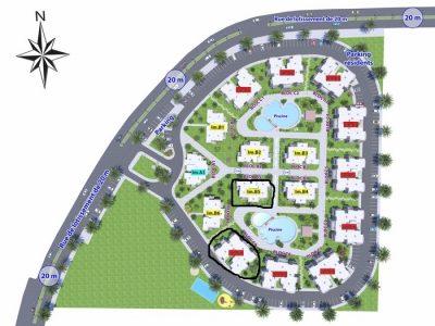appartements sur le projet palm cabo